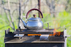 Boiling kettle Stock Photos