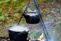 A boiling kettle. Stock Photo