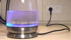 Boiling Kettle Time Lapse stock video footage
