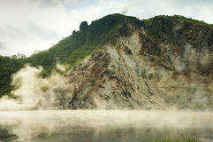 Boiling lake Stock Image