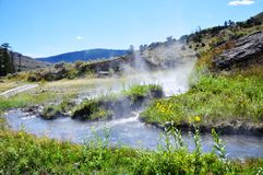 Boiling River Royalty Free Stock Photos