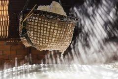 Boiling salt mountainous of Nan province, Thailand Stock Photography