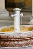 Boiling spring, Karlovy Vary Royalty Free Stock Photo