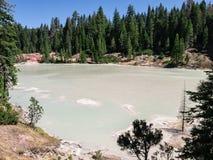 Boiling Springs湖,华纳谷,加利福尼亚 库存图片