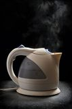 Boiling teapot Royalty Free Stock Photos