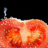 Boiling tomatoes Royalty Free Stock Image