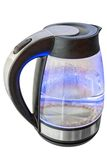 Boiling water in electric kettle Royalty Free Stock Photos
