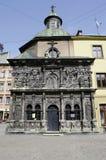 Boim家庭的教堂在Lvov 库存照片