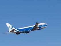 Boing 747-8F Imagem de Stock