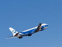 Boing 747-8F aircraft Stock Photo