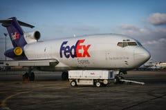 Boing 727 Fedex Στοκ Εικόνες