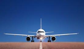 boing landningsbana Royaltyfri Fotografi