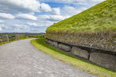 Boinne del na del bru de Newgrange Imagenes de archivo