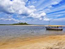 Boipeba-Insel lizenzfreies stockfoto