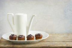 Boire abstrait de thé photo stock