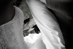 Boire de ménages mariés Image stock