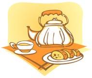 Boire de thé Photographie stock libre de droits