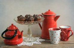 Boire rustique de thé photos libres de droits