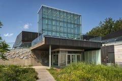 Boisé图书馆入口 免版税图库摄影