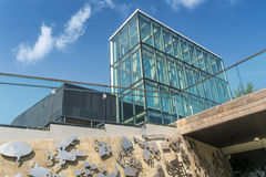 Boisé biblioteki skylight Zdjęcia Royalty Free