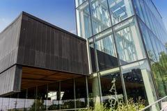 Boisé biblioteki skylight Obrazy Royalty Free