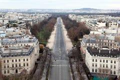 bois boulogne de paris Royaltyfri Foto