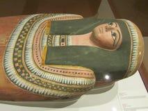 Bois-cercueil peint de Nesperennub photos libres de droits
