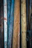 Bois colorés Image stock