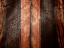 Bois d'ébène en bois Eben Makassar de placage en bois naturel Photo libre de droits