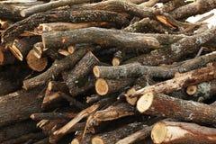 Bois d'incendie Image stock