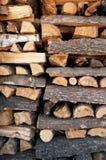 Bois d'incendie Photographie stock libre de droits