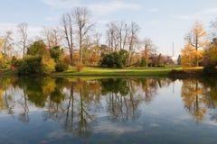Bois de Boulogne, Parijs Stock Afbeeldingen