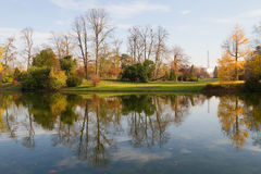 Bois de Boulogne, Paris Stockbilder