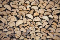 Bois de chauffage Photographie stock