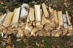 Bois de chauffage Photographie stock libre de droits