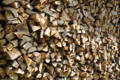 Bois de chauffage Image stock