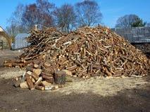 Bois de chauffage photos stock