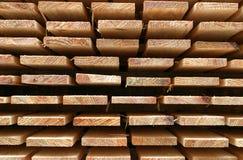 Bois de construction chevronné Photos libres de droits