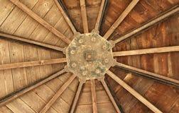 Bois de construction de toit Photos libres de droits