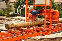 Bois de construction faisant l'équipement Photo libre de droits