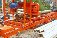 Bois de construction faisant l'équipement Photographie stock libre de droits