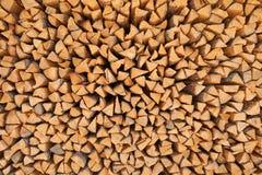Bois de construction de pin Fond de bois de chauffage Images stock