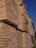 Bois de construction scié Photo stock