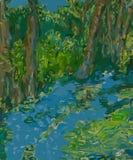 Bois de jacinthe des bois Photo stock