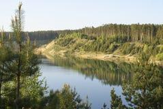 bois de lac Images stock