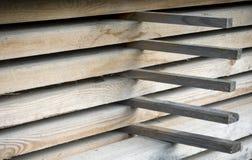 bois de pile photographie stock