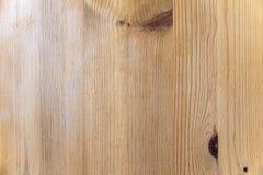 Bois de pin léger Images libres de droits