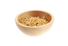 bois de pin nuts de cuvette Image stock