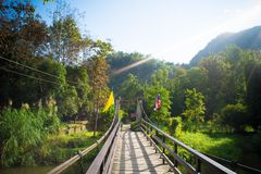 Bois de pont Photo stock