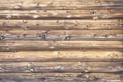 bois de rondin Photographie stock